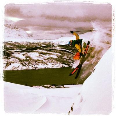 Morro med ski